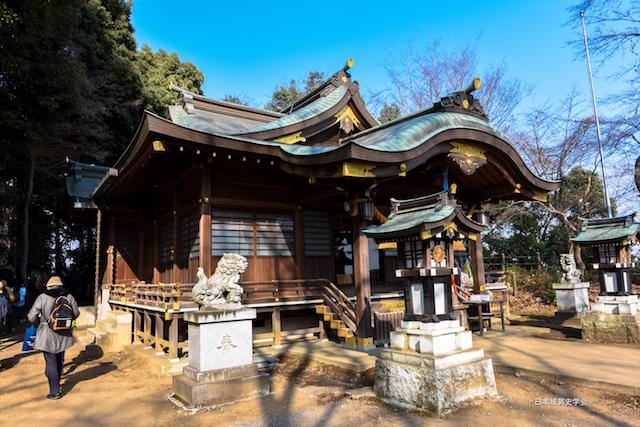 滝の城城山神社